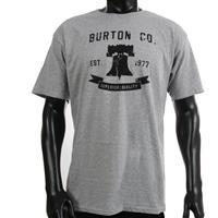 Heather Grey Burton Liberty Bell Tee Mens