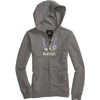 Burton Circle Process Basic Full Zip Hoodie - Girl's
