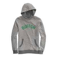 Burton Throwback Premium Pullover Hoodie - Boy's - Heather Iron Gray