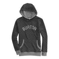 Burton Throwback Premium Pullover Hoodie - Boy's - Heather True Black