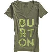 Heather Weeds Burton Copacetic V Neck Tee Womens