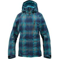 Heathers Gemini Plaid Burton AK 2L Altitude Jacket Womens