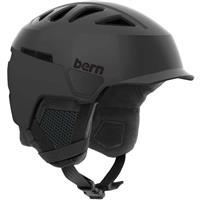 Satin Black Bern Heist Brim Helmet Mens