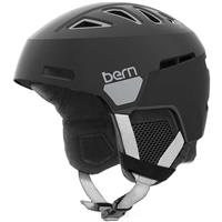Satin Metal Black Bern Heist Helmet Womens