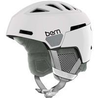 Satin White Bern Heist Helmet Womens