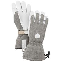 Light Grey Hestra Patrol Gauntlet Glove Womens