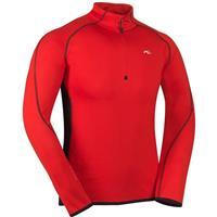High Risk Red / Black / White Kjus Royale Half Zip Mens