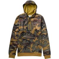 Highland Camo Burton Crown Bonded Pullover Hoodie Mens