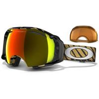 Highlight Gold Frame / Fire Lens + Persimmon Lens (57 424) Oakley Shaun White Signature Airbrake Goggle