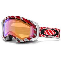 Highlight Red/White Frame / H.I. Persimmon Lens (57 604) Oakley Shaun White Splice Goggle