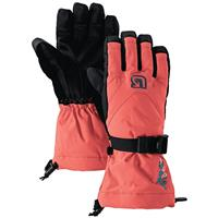 Hot Coral Burton Glove Girls