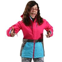 Hot Streak Colorblock Burton Tula Jacket Womens
