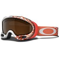 Huntress Grenadine Frame / Frame Black Iridium Lens (59 334) Oakley A Frame Goggle