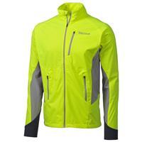 Hyper Yellow / Steel Marmot Fusion Jacket Mens