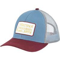 Storm Cloud Marmot Retro Trucker Hat Mens