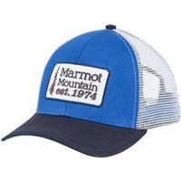True Blue Marmot Retro Trucker Hat Mens