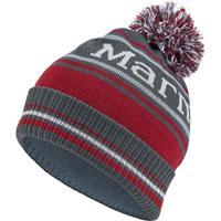 Slate Grey Marmot Retro Pom Hat