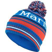 True Blue Marmot Retro Pom Hat Boys