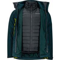 Dark Spruce / Cilantro Marmot Castleton Component Jacket Mens