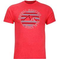 Red Heather Marmot Purview Tee SS Mens