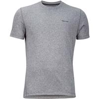 Cinder Heather Marmot Conveyor Tee SS Mens