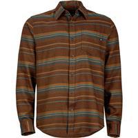 Rich Brown Marmot Enfield Flannel LS Mens