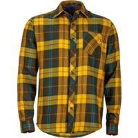 Deep Olive Marmot Anderson Flannel LS Mens