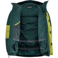 Cilantro / Dark Spruce Marmot Mountain Down Jacket Mens