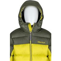 Citronelle / Beetle Green Marmot Guides Down Hoody Boys