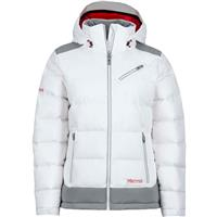 White / Grey Storm Marmot Sling Shot Jacket Womens