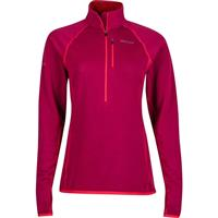 Red Dahlia Marmot Neothermo 1/2 Zip Womens