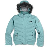 Icy Blue The North Face Tempest Down Jacket Girls