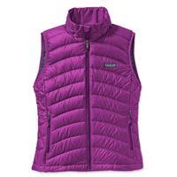 Ikat Purple Patagonia Down Sweater Vest Womens