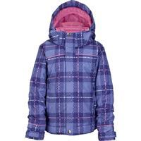 Inky Dinky Plaid Burton Minishred Elodie Jacket Girls