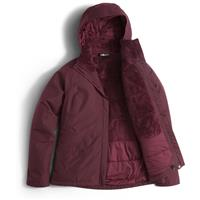 Deep Garnet Red The North Face Inlux Insulated Jacket Womens
