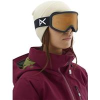 Black Frame with Amber Lens (201791 003) Anon Insight Goggle Womens