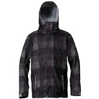 Irish Plaid Quiksilver Mission Irish Plaid Insulated Jacket Mens