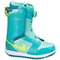 Jade/Turquoise Nike Vapen X Boa Snowboard Boots Womens