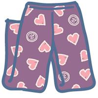 Life is good Heart Lounge Pant - Girl's