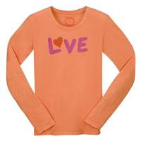 Juicy Orange Life is good Fitted Love Crusher Longsleeve Shirt Womens