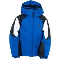 Just Blue / Black / White Spyder Mini Guard Jacket Boys