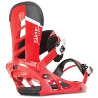 Red K2 Indy Snowboard Bindings Mens