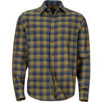 Dark Spruce Marmot Bodega Lightweight Flannel LS Mens
