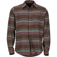 Dark Brown Marmot Enfield Midweight Flannel LS Mens