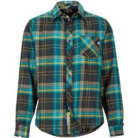 Dark Coal Marmot Anderson Lightweight Flannel Mens