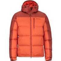 Orange Haze / Dark Rust Marmot Guides Down Hoody Mens