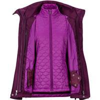 Dark Purple Marmot Sugar Loaf Component Jacket Womens