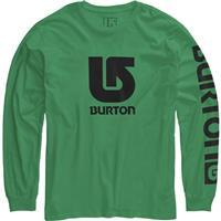 Kelly Green Burton Logo Vertical Fill LS Tee Boys