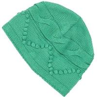 Kelly Green Nils Hat with No Brim Womens