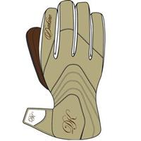 Khaki Dakine Comet Gloves Womens